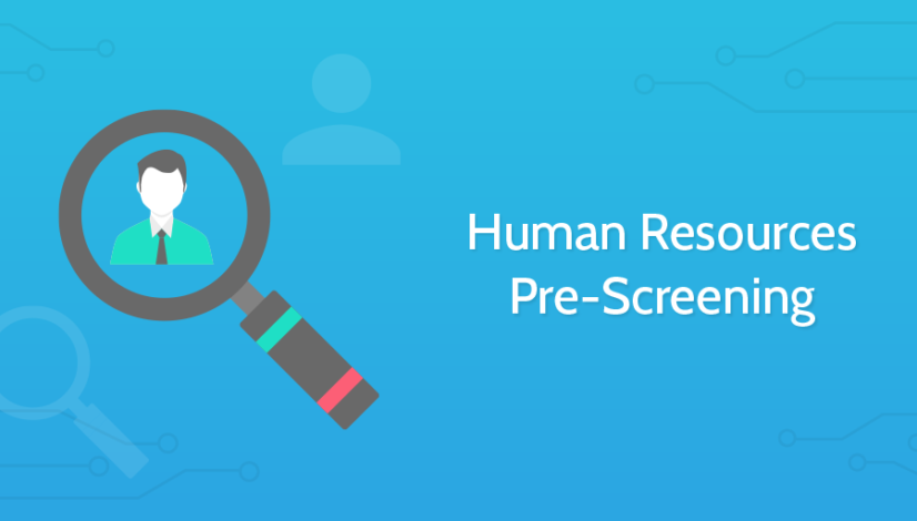 Human Resources Pre Screening