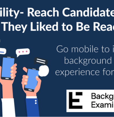 Go Mobile with Background Examine
