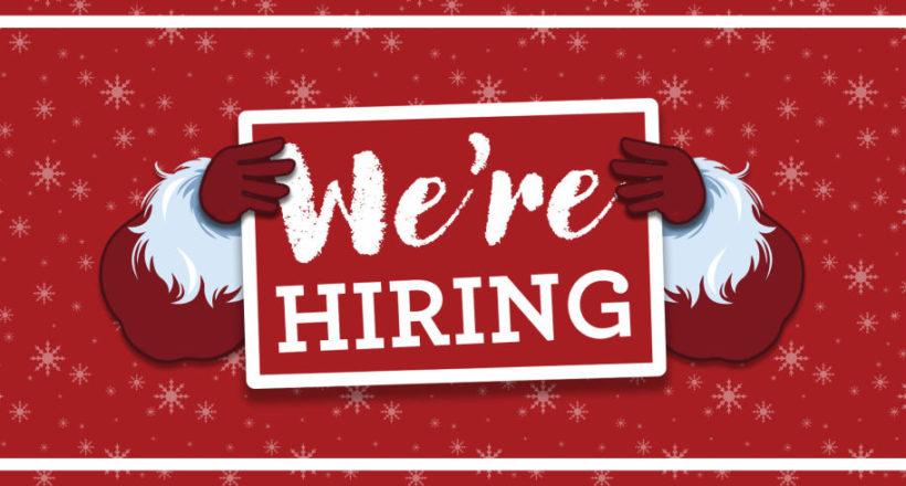 Holiday hiring, seasonal hiring